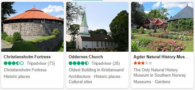 Kristiansand Attractions
