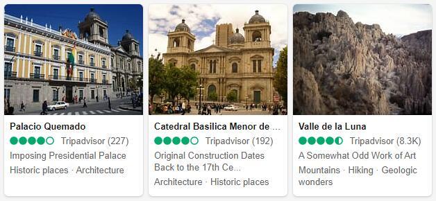 La Paz Attractions 2