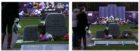 Memorial to the victims of Lockerbie